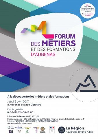 Forum des métiers et des formations d'Aubenas