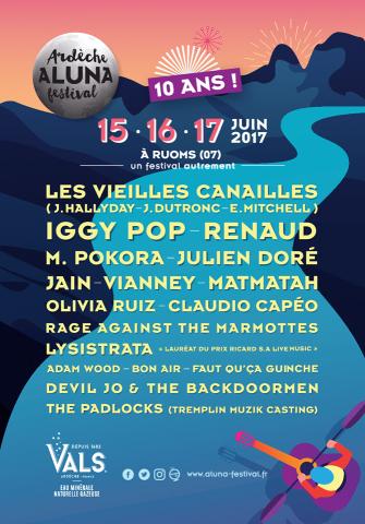 Festival Aluna à Ruoms