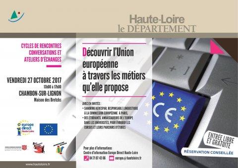 Découvrir l'Union Européenne à travers ses métiers