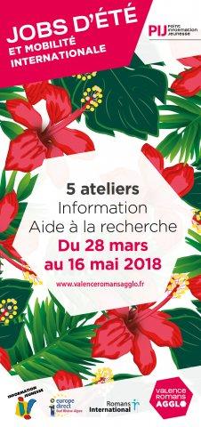 """Atelier """"Information - Aide à la recherche de job"""" à Bourg-l..."""