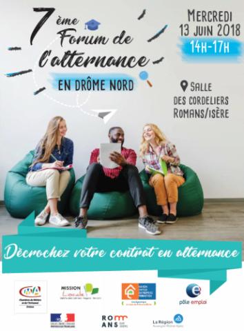 7ème Forum de l'alternance en Drôme Nord