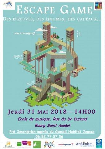 Escape game à Bourg-Saint-Andéol