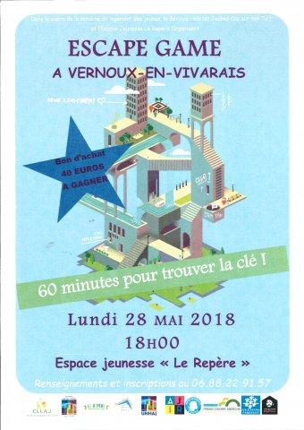 Escape game à Vernoux-en-Vivarais