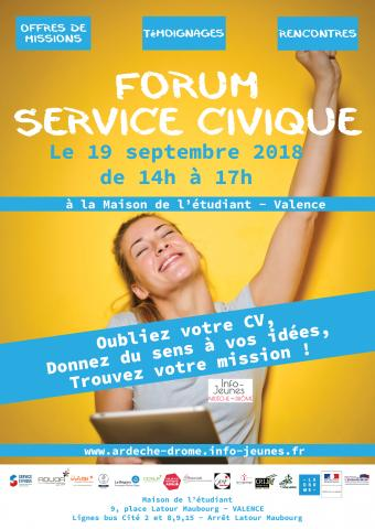 Forum Service Civique à Valence