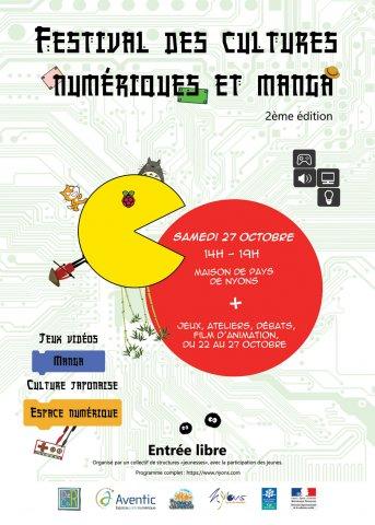Festival des cultures numériques et du Manga