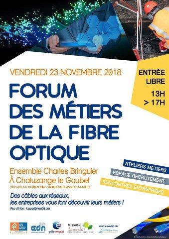 Forum des métiers de la fibre optique