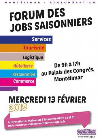 Forum des Jobs saisonniers à Montélimar