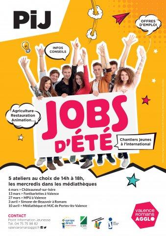 """Atelier """"Jobs d'été"""" à Chateauneuf-sur-Isère"""