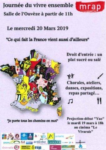 """Edition 2019 Journée du """"Vivre Ensemble"""""""