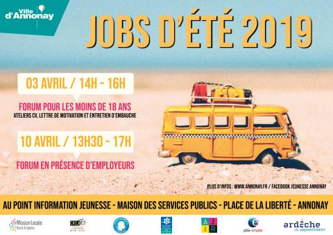 Forum Jobs d'été à Annonay