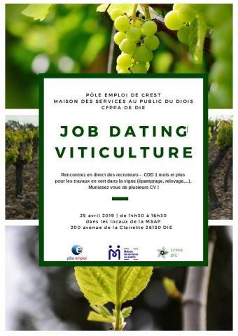 Job dating viticulture à Die
