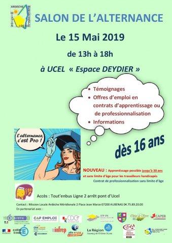 Salon de l'alternance à Ucel (Ardèche)