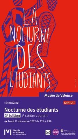 """Nocturne des étudiants à Valence - 3ème édition """"A contre co..."""