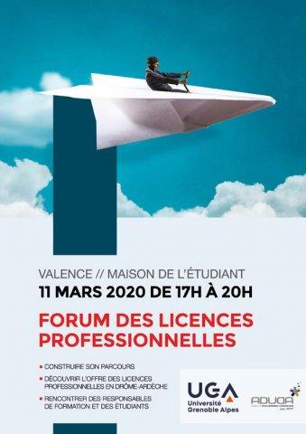 Forum des licences professionnelles à Valence