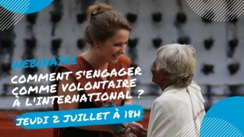 S'engager comme volontaire à l'international