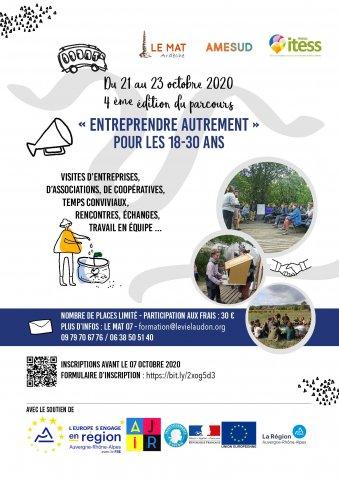 Parcours Entreprendre Autrement 2020