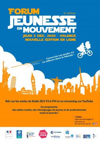 Forum Jeunesse en Mouvement - Nouvelle édition en ligne