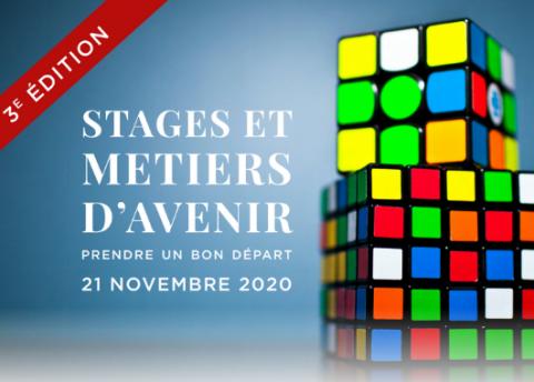 """Forum """"Stages et Métiers d'Avenir"""" - 100% en ligne"""