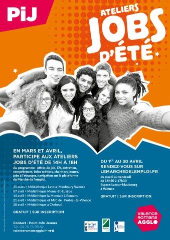 """Atelier """"Jobs d'été"""" à Portes-lès-Valence"""