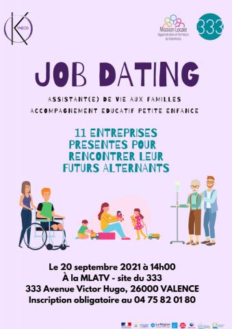 Job dating - Secteur aide à la personne