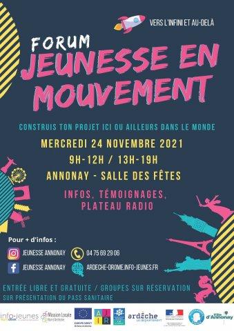 Forum Jeunesse en Mouvement - Annonay