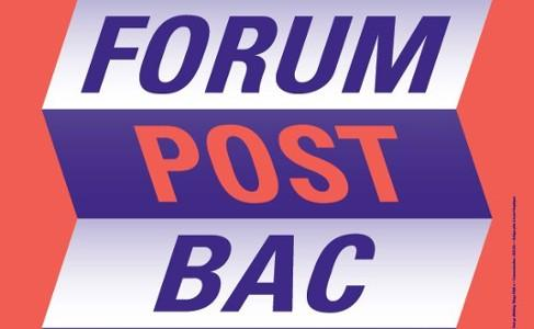 Affiche forum post bac